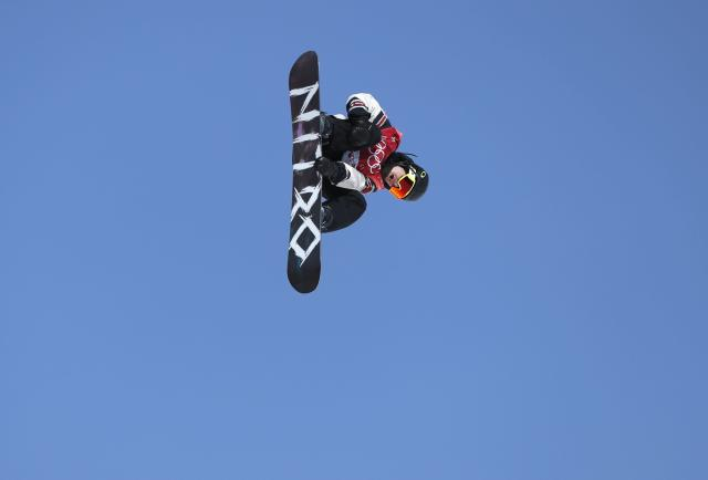 Snowboarding - Pyeongchang 2018 Winter Olympics - Men's Big Air Qualifications - Alpensia Ski Jumping Centre - Pyeongchang, South Korea - February 21, 2018 - Sebastien Toutant of Canada competes. REUTERS/Murad Sezer