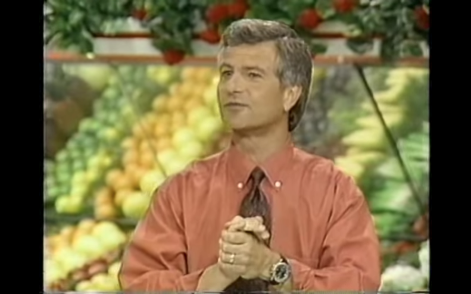 """<p>Contestants aren't offering any commentary while they shop, instead it is the announcer who provides a play by play of what they are grabbing and how much time is left. Because of this, <a href=""""https://tv.avclub.com/what-was-it-like-to-be-on-supermarket-sweep-1798271210"""" rel=""""nofollow noopener"""" target=""""_blank"""" data-ylk=""""slk:none of the contestants have mics on"""" class=""""link rapid-noclick-resp"""">none of the contestants have mics on</a> for the Big Sweep segment of the show. </p>"""