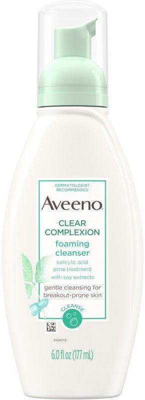 "<h2>Aveeno Clear Complexion Foaming Cleanser</h2> <br>""This one removes excess oil and dead skin cells from the surface of the skin to keep your pores clear,"" Dr. Zeichner explains. ""It won't irritate your skin and it works."" <br><br><strong>Aveeno</strong> Aveeno Clear Complexion Foaming Cleanser, $, available at <br>"