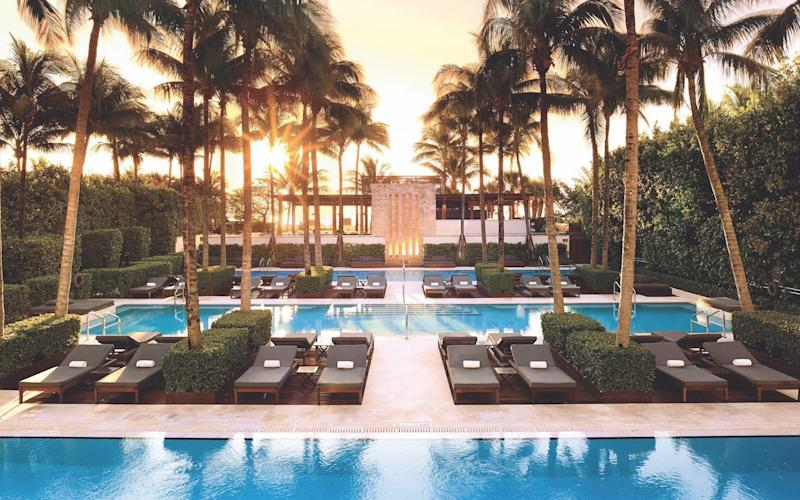 The Setai is a bastion of privacy and tranquility on South Beach