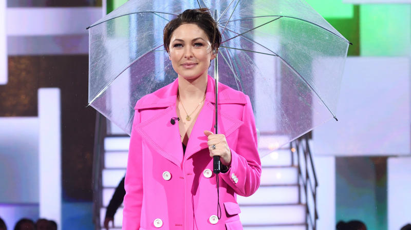 Emma Willis sure got the crowds going with her bubbly personality during Celebrity Big Brother's all-female launch, but her outfit also caught some fans' attention.