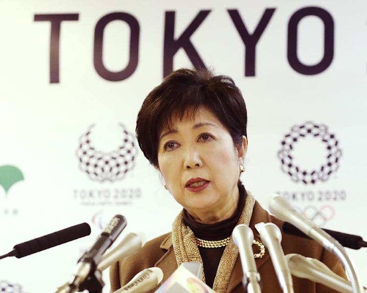 Tokyo Governor Yuriko Koike is leading a cost-cutting fight for the city's 2020 Olympic Games (AFP Photo/Jiji Press)
