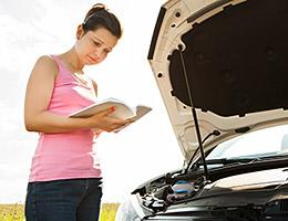 Read your car owner's manual copyright Andrey_Popov/Shutterstock.com