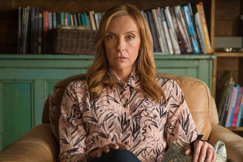 In 'Wanderlust' the therapist (Toni Collette) is herself in therapy