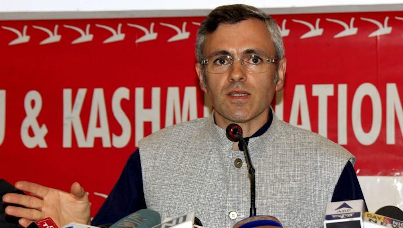 Article 370 Abrogation Anniversary: Omar Abdullah Shares Pictures of BJP Members Celebrating Amid Curfew in Srinagar, Accuses The Party of Hypocrisy
