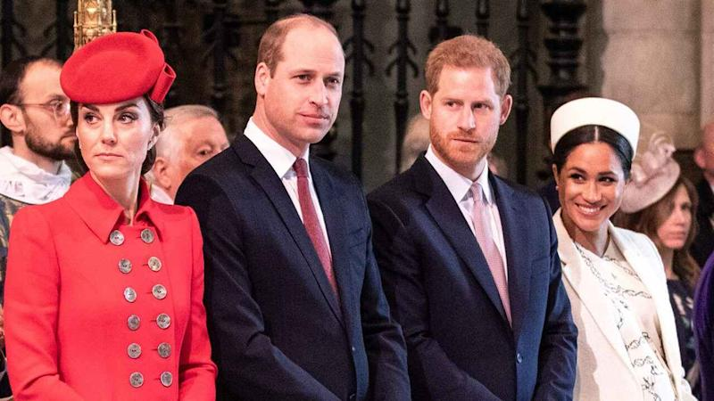 Prince Harry & Meghan Markle Team Up With Prince William & Kate Middleton to Launch Mental Health Service