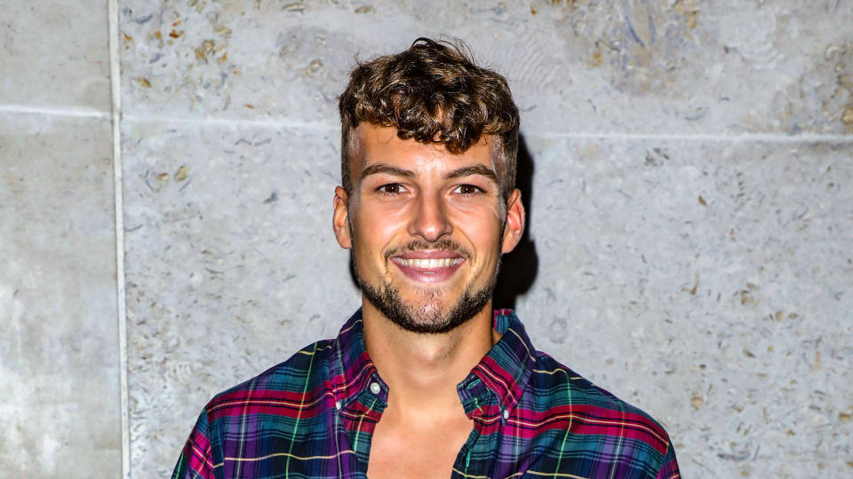Hugo Hammond says he did talk about his physical disability during his 'Love Island' run. (Brett Cove/SOPA Images/LightRocket via Getty Images)