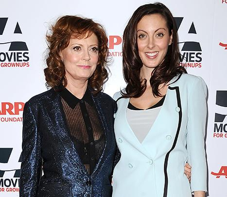 """Susan Sarandon Says She's """"Very Excited"""" About Daughter Eva Amurri's Pregnancy, Reveals What Baby Gift She Already Bought Her"""