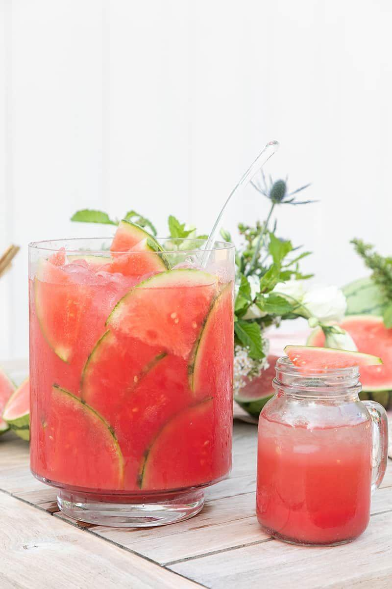"""<p>Serve a batch of this punch at your next backyard party. It will disappear sooner than you think!</p><p><strong>Get the recipe at <a href=""""https://sugarandcharm.com/watermelon-punch"""" rel=""""nofollow noopener"""" target=""""_blank"""" data-ylk=""""slk:Sugar and Charm"""" class=""""link rapid-noclick-resp"""">Sugar and Charm</a>. </strong></p><p><strong><strong><a class=""""link rapid-noclick-resp"""" href=""""https://go.redirectingat.com?id=74968X1596630&url=https%3A%2F%2Fwww.walmart.com%2Fip%2FThe-Pioneer-Woman-3-2-Quart-Willow-Pitcher%2F456874744&sref=https%3A%2F%2Fwww.thepioneerwoman.com%2Ffood-cooking%2Fmeals-menus%2Fg32147587%2Fwatermelon-drink-recipes%2F"""" rel=""""nofollow noopener"""" target=""""_blank"""" data-ylk=""""slk:SHOP PITCHERS"""">SHOP PITCHERS</a></strong><br></strong></p>"""