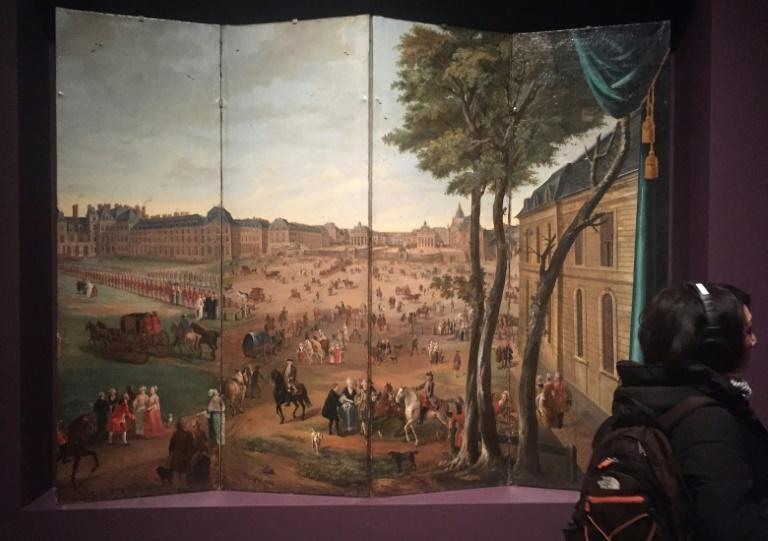 The Met exhibit features pieces and recreations of halls at Versailles, and audio for people to hear what visitors said of the palace way back in the day