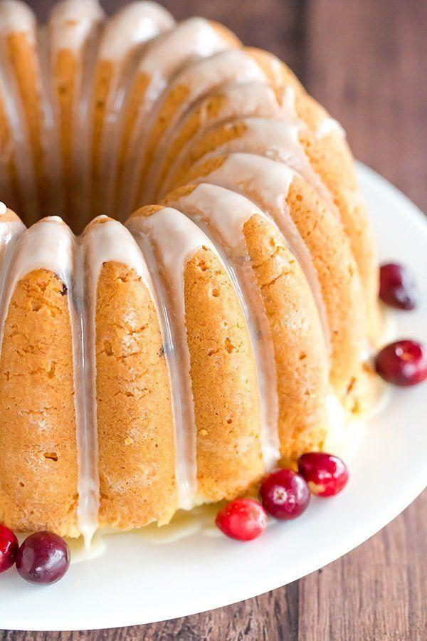"<strong>Get the recipe for <a href=""https://www.browneyedbaker.com/cranberry-pound-cake/"" target=""_blank"">Cranberry Pound Cake</a> from Brown Eyed Baker</strong>"