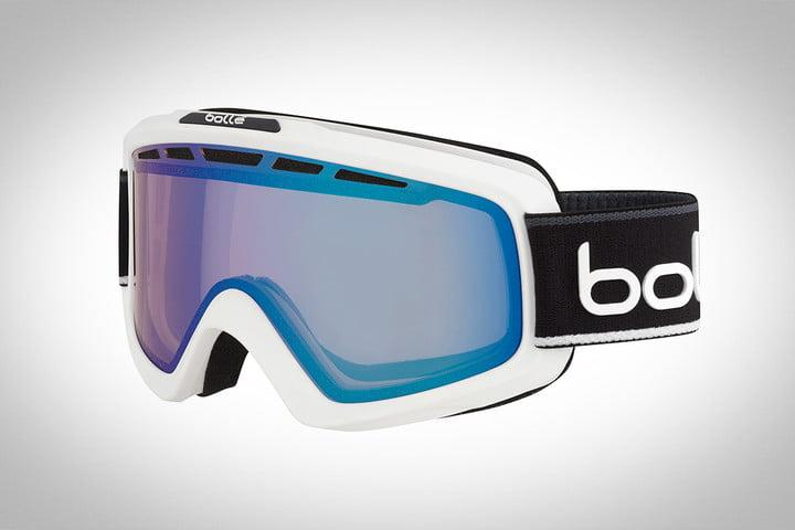 best ski and snowboard goggles bolle nova ii with matt blue gradient prd