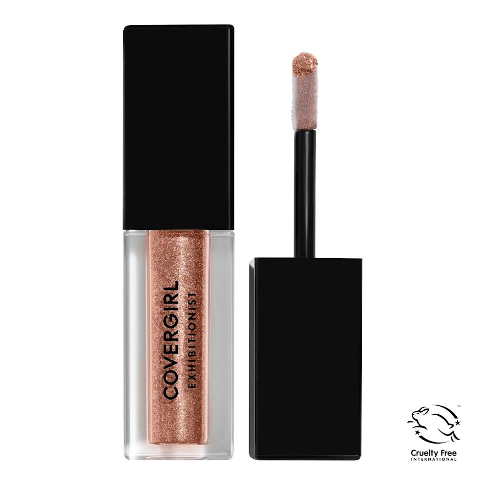 "<h3>Covergirl Exhibitionist Liquid Glitter Eyeshadow</h3> <br>This glitter shadow comes in some the prettiest hues — rose gold, steely gunmetal, glistening bronze — and at an under-$10 price point. <br><br><strong>COVERGIRL</strong> Exhibitionist Liquid Glitter Eyeshadow, $, available at <a href=""https://go.skimresources.com/?id=30283X879131&url=https%3A%2F%2Ffave.co%2F32r0RSe"" rel=""nofollow noopener"" target=""_blank"" data-ylk=""slk:Walmart"" class=""link rapid-noclick-resp"">Walmart</a><br>"