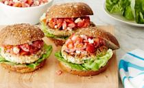 "<p>Looking for a <a href=""https://www.womansday.com/food-recipes/cooking-tips/tips/a7794/healthy-burger/"" rel=""nofollow noopener"" target=""_blank"" data-ylk=""slk:healthy burger recipe"" class=""link rapid-noclick-resp"">healthy burger recipe</a>? This one is super quick and easy to make, plus, with no red meat, it's better option for your heart.</p><p><a href=""https://www.womansday.com/food-recipes/food-drinks/recipes/a53327/greek-turkey-burgers/"" rel=""nofollow noopener"" target=""_blank"" data-ylk=""slk:Get the Greek Turkey Burgers recipe."" class=""link rapid-noclick-resp""><em><strong>Get the Greek Turkey Burgers recipe.</strong></em></a></p>"