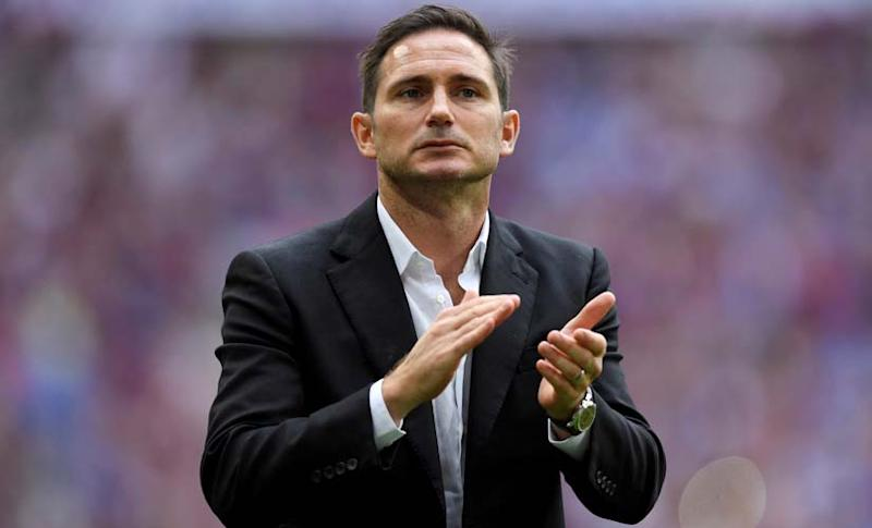 Frank Lampard's success with Derby has prompted rumours of his move to Chelsea, where he is beloved by fans. Reuters