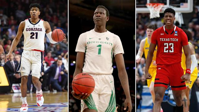 Bol Bol, Jarrett Culver and Rui Hachimura are three potential NBA stars.