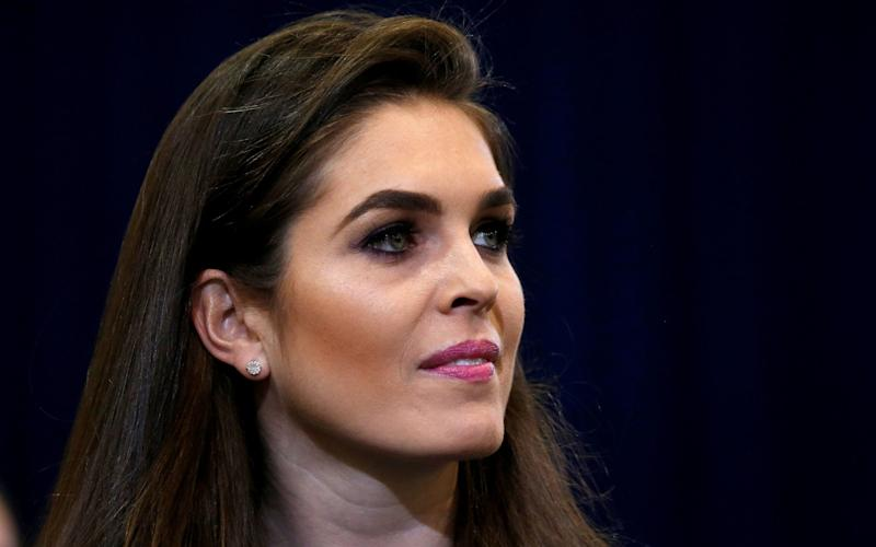 Hope Hicks is temporarily replacing Scaramucci  - REUTERS