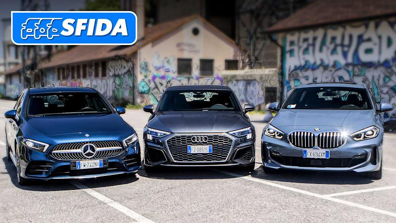 BMW Serie 1 vs Mercedes Classe A vs Audi A3