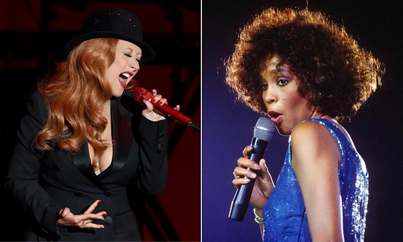 Christina Aguilera and Whitney Houston in a postmortem duet.