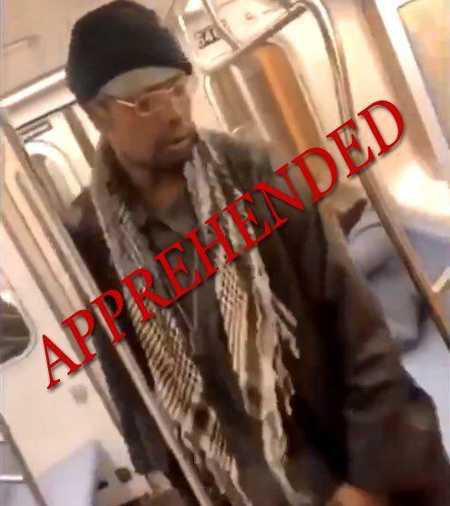 Man caught on camera kicking elderly woman on subway arrested, police say