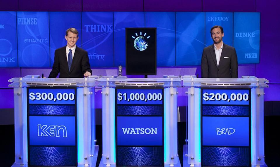IBM's Watson computer destroyed Ken Jennings at Jeopardy. Source: AP