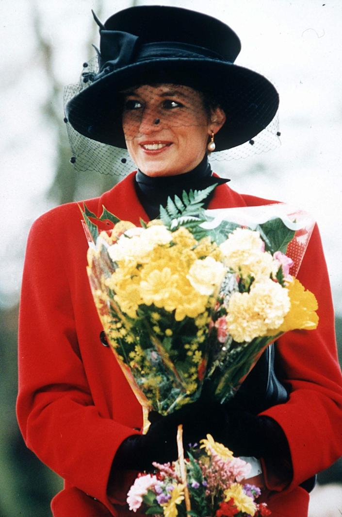 Diana Christmas Day (Tim Graham Photo Library via Getty Images)
