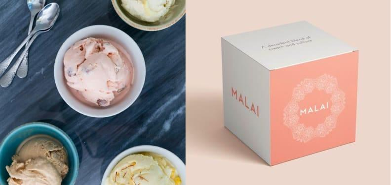 Malai's Orange Fennel was my favorite ice cream in this four-pack from Goldbelly.
