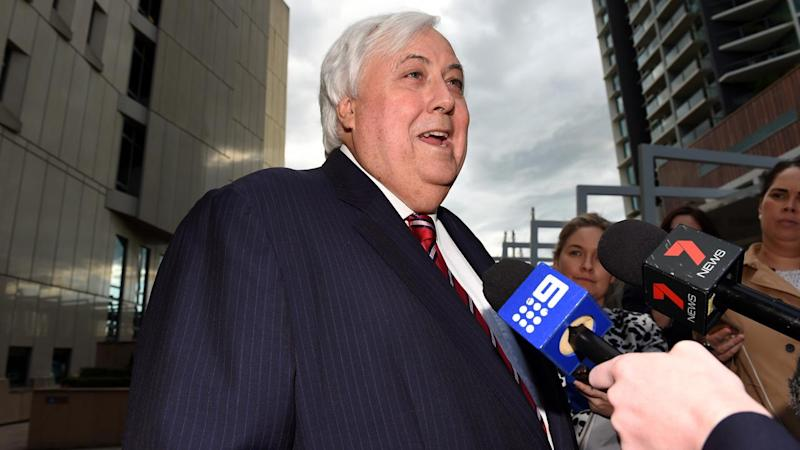 Clive Palmer is expected to front the Federal Court to answer questions about Queensland Nickel.