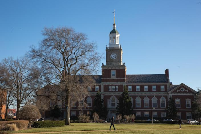 Founder's Library at Howard University to be renovated (Evelyn Hockstein / The Washington Post via Getty Images file)