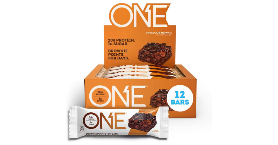 ONE Protein Bars are up to 30 percent off. (Photo: Amazon)