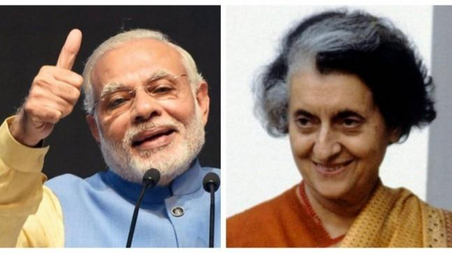 It was Indira Gandhi's doing 50 years ago that helped Narendra Modi launch his massive financial outreach programmes in the last five years.