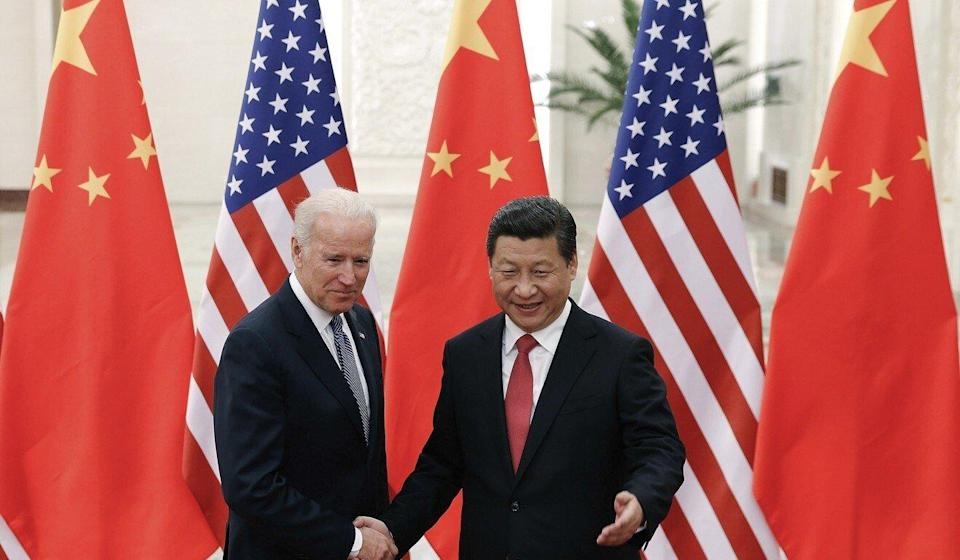 The Hong Kong government is to pay close attention to the evolving relationship between US President Joe Biden (left) and Chinese President Xi Jinping. Photo: AP