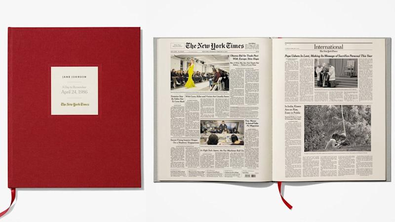 Best personalized gifts 2019: New York Times Special Day Book
