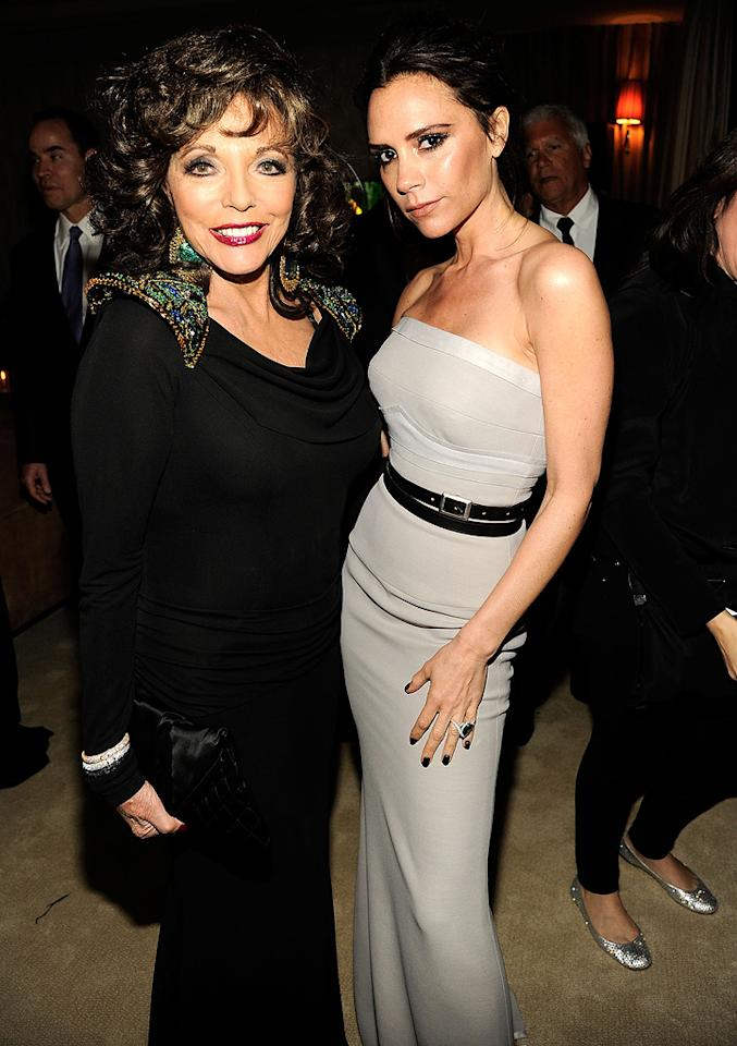 """Joan Collins looks great for 78, and Victoria Beckham looks grumpy for 37.<br><br><a target=""""_blank"""" href=""""http://bit.ly/lifeontheMlist"""">Follow Matt Whitfield on Twitter!</a>"""