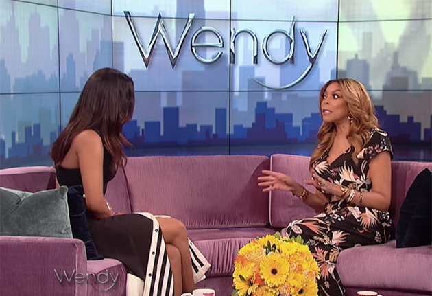 The stunner appeared on the Wendy Williams Show where she spoke about her friend's relationship. Photo: YouTube
