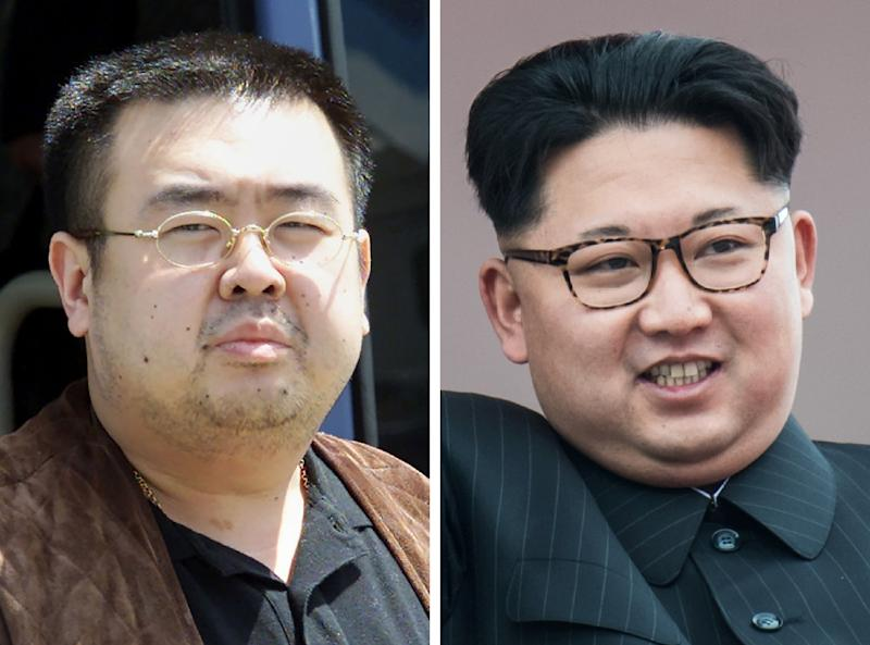 The killing of his Kim Jong-Nam apparently with the nerve agent VX and allegedly on the orders of his half-brtother Kim Jong-Un gripped the world (AFP Photo/Toshifumi KITAMURA, Ed JONES)