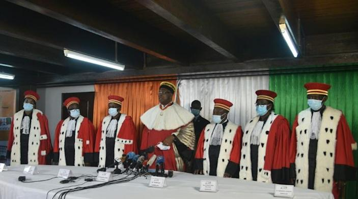 """""""The Constitutional Council missed a historic chance to show its independence,"""" Nguessan said"""