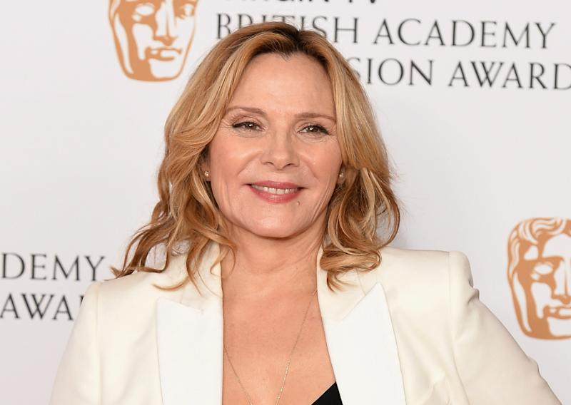 Kim Cattralls Leaked Cell Phone Pictures