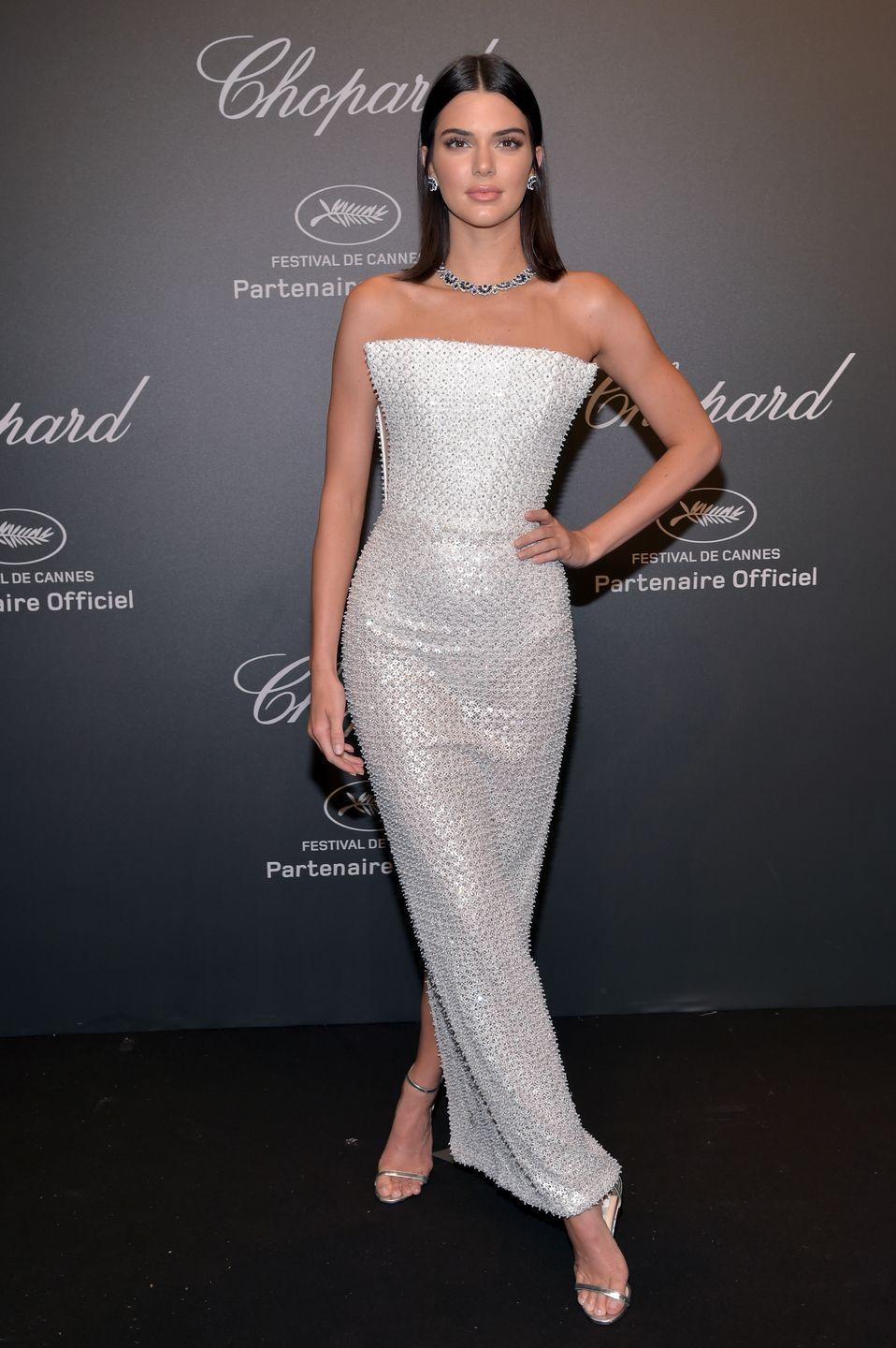 <p>Kendall Jenner went to the Chopard 'Space' party dressed like the most glorious extra-terrestrial in Ralph & Russo Spring 2017 Couture and Chopard gems.</p>