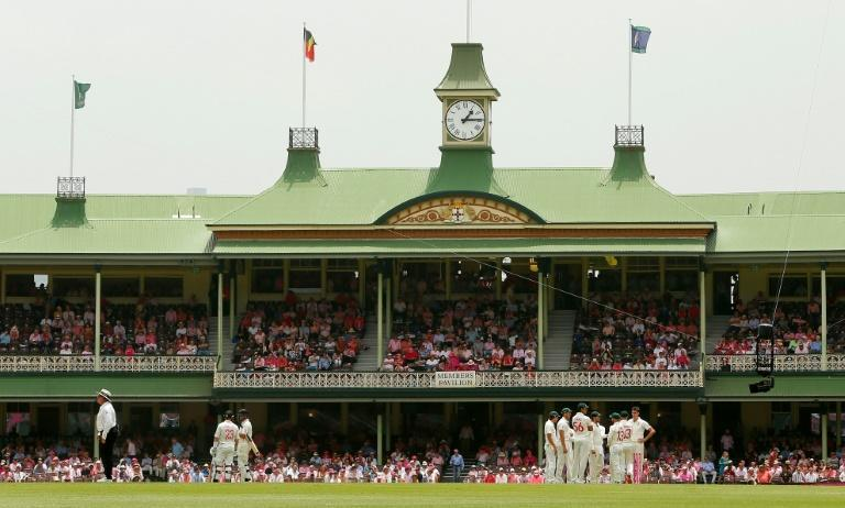 """""""I think everyone's preference here would be to play ... but we will always be guided by experts,"""" says Steve Smith of the Sydney Cricket Ground (pictured)"""