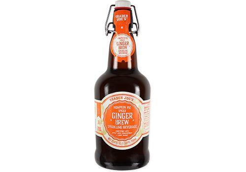 <p><strong>This non-alcoholic beverage is a twist on apple-cider with ginger puree and a blend of pumpkin pie spices. </strong>We love the old-school bottle vibes with rubber gasket for resealing. </p>