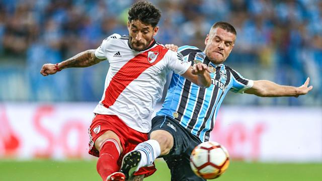 Marcelo Gallardo admitted to visiting the River Plate dressing room despite a suspension from CONMEBOL and Gremio plan to take action.