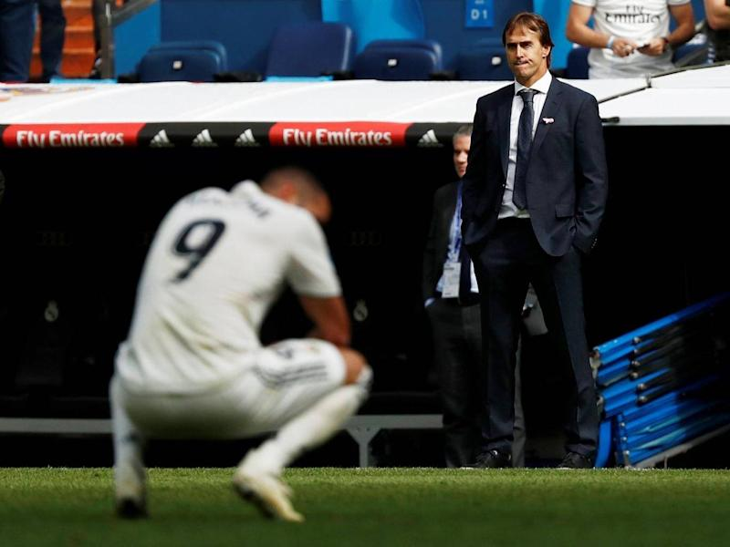 Julen Lopetegui says he does not expect to lose his job (REUTERS)