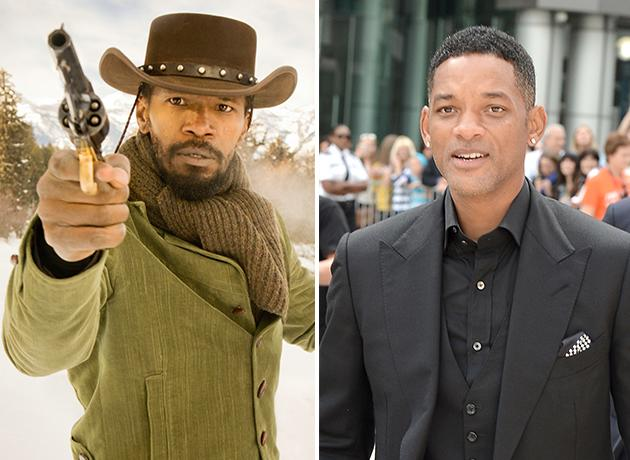 """Django Unchained"" was written with Will Smith in mind. However, Smith decided to pass, and the role went to Jamie Foxx instead."