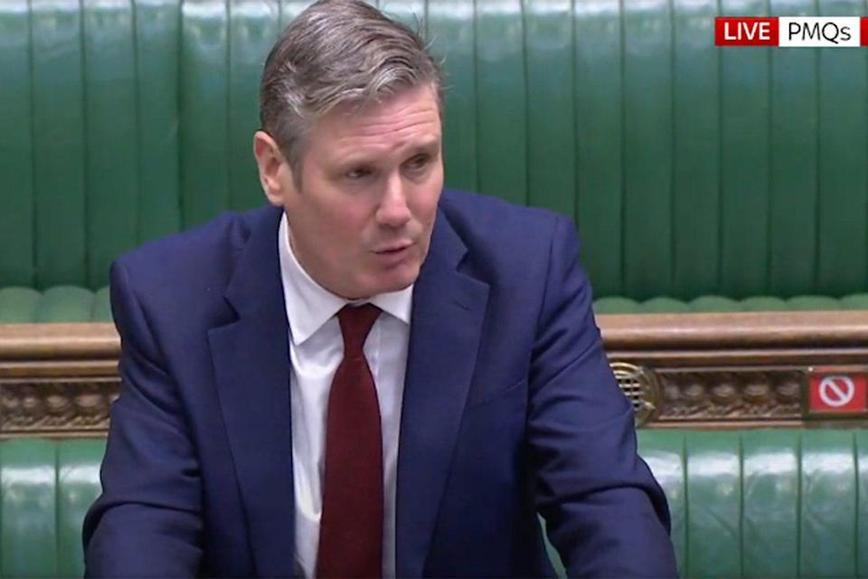 <p>Sir Keir Starmer, leader of the Labour  Party, has criticised the tier system</p>Sky News