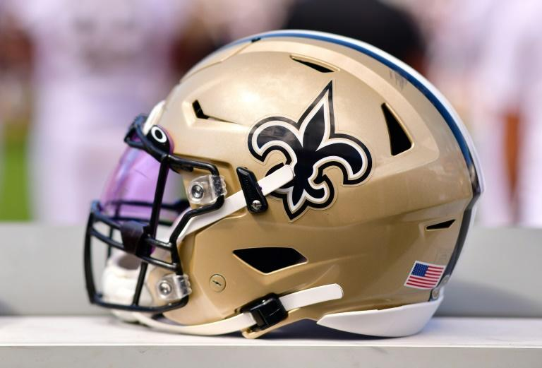 Who dat - The fleur-de-lis logo of the NFL's New Orleans Saints featured in a tweet from Pope Francis on Sunday
