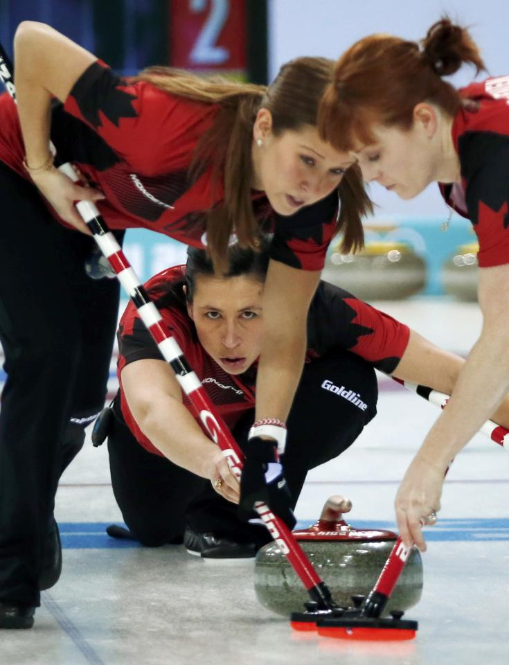 What You Missed Jones Rocks Olympic Curling