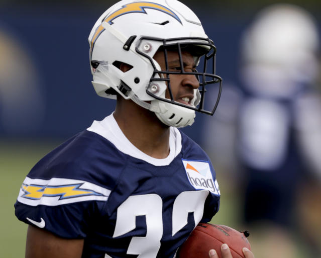 Justin Jackson has a chance to make some noise in fantasy leagues with Melvin Gordon banged up. (AP Photo/Chris Carlson)
