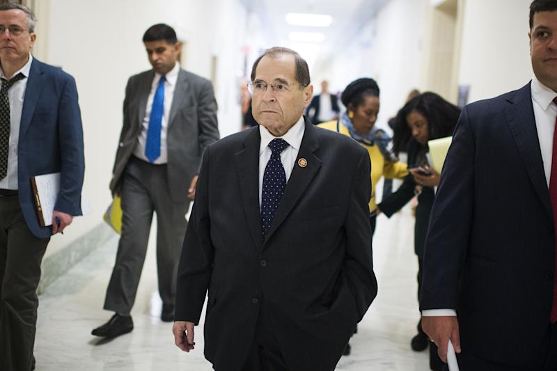 Judiciary Committee Chairman Jerrold Nadler has a tough job in Congress amid Democrat impeachment pleas and Trump allies denying subpoenas.