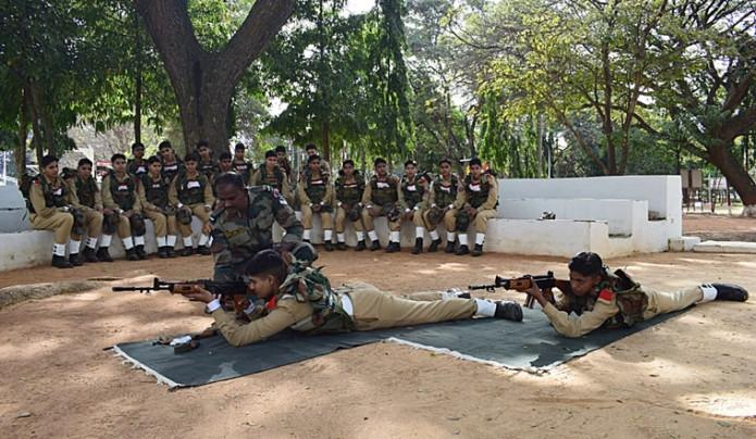 Women-military-police-Indian-Army-bengaluru-first-batch-training-759